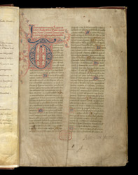 Chronicle of the Noble English Kings, by Thomas Elmham, in a Miscellany From St Albans f.2r